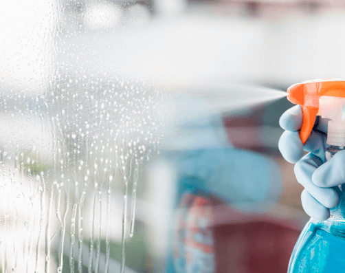 Restorative Window Cleaning/Hard Water Stain Removal