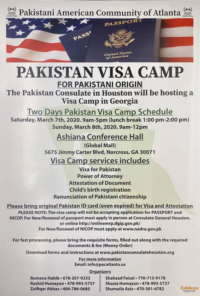 Pakistan Visa Camp
